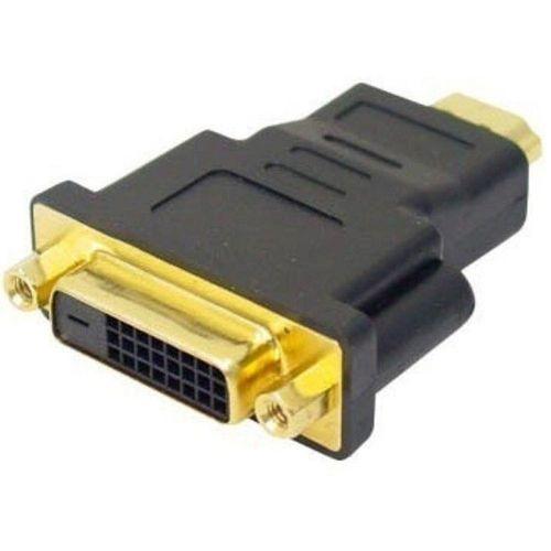 Adaptador de Vídeo DVI-I Dual Link Fêmea 24+5 Para HDMI Macho DEX
