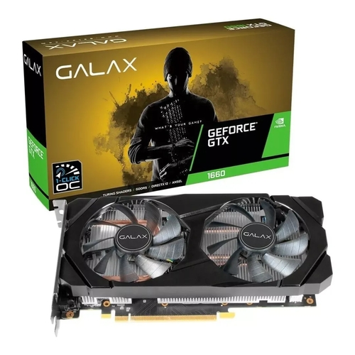 Placa De Vídeo Galax GTX 1660 6gb Ddr5 1815 Core 60SRH7DSY91C