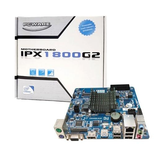 Placa Mae Integrada Itx Ipx1800G2 Cel J1800 2.41 Ddr3 BOX